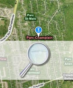Birdseye View of Parc Champlain