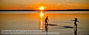Coucher du soleil à Aylmer Québec | Sunset Beach Aylmer Québec