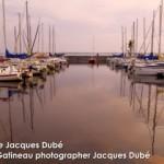 Quais au crépuscule à Aylmer Québec | Dusk at the Marina docks