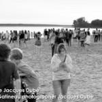 Joie des amis et des familles à la plage d'Aylmer Québec | Joy and fun at the beach in Aylmer Québec