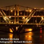 Pont à nuit Ottawa Gatineau |Bridge at night Ottawa Gatineau